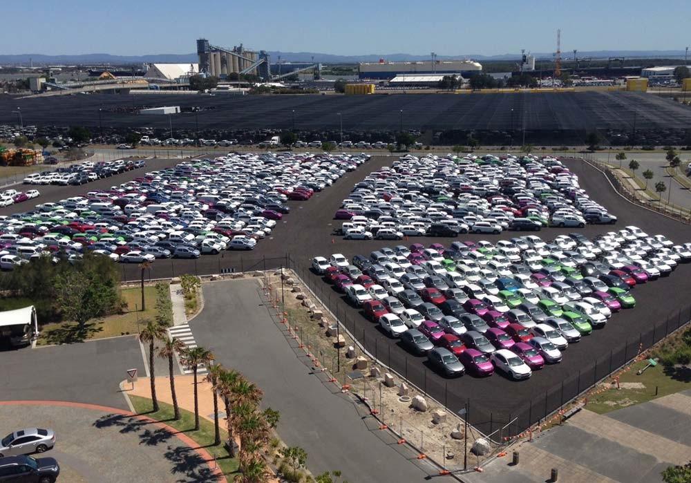 Whimbrel Street Car Park, Port of Brisbane
